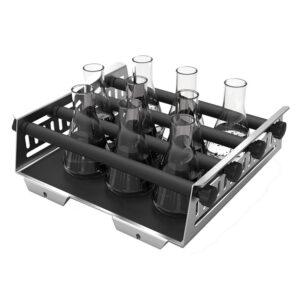 Tilbehør til CAPPRondo platformshaker Universalplade med justerbar kolbeholder