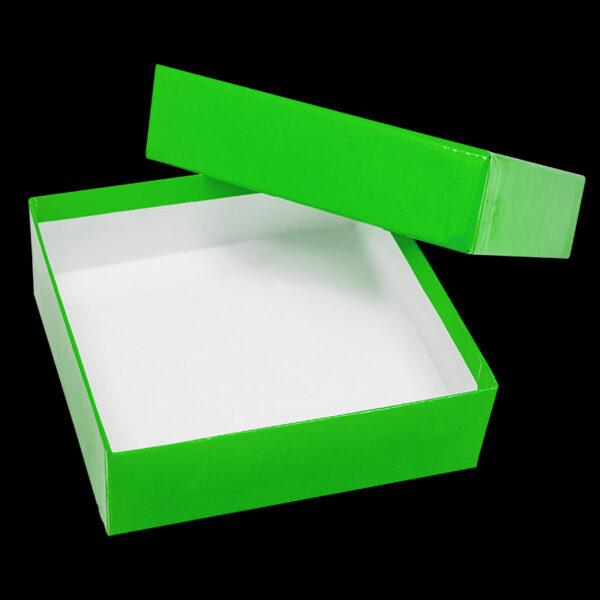 Cardboardboks 50 mm groen