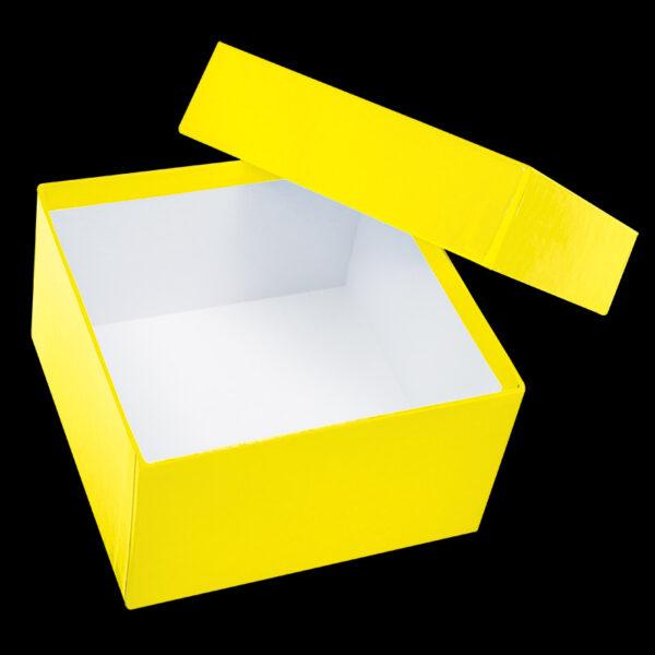 Cardboardboks 75 mm gul