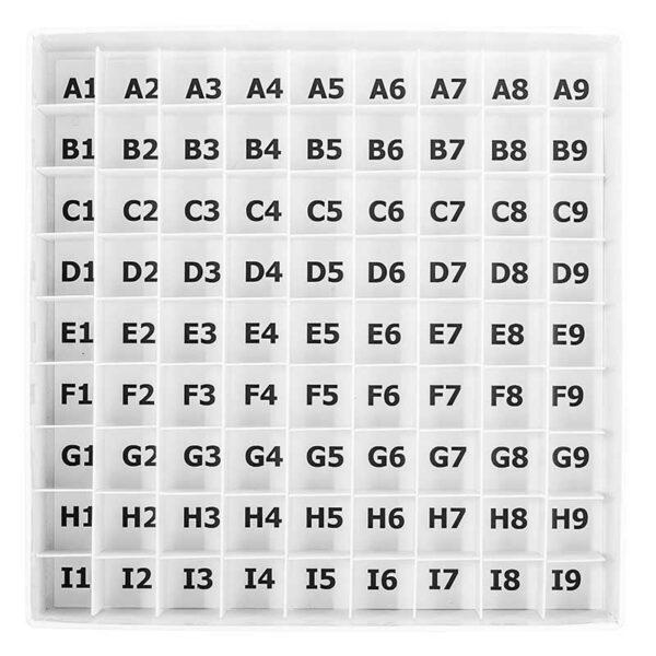 Cardboardboks grid 9x9