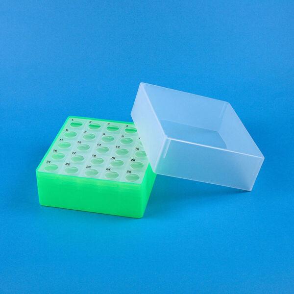 Centrifugeboks 5 ml groen