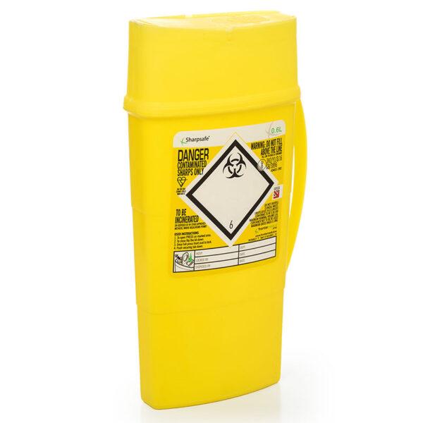 Kanylespande 0,6 liter