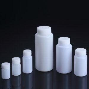 Flaske med bred hals HDPE
