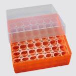 Cryoboks 7x7 50 mm med runde huller