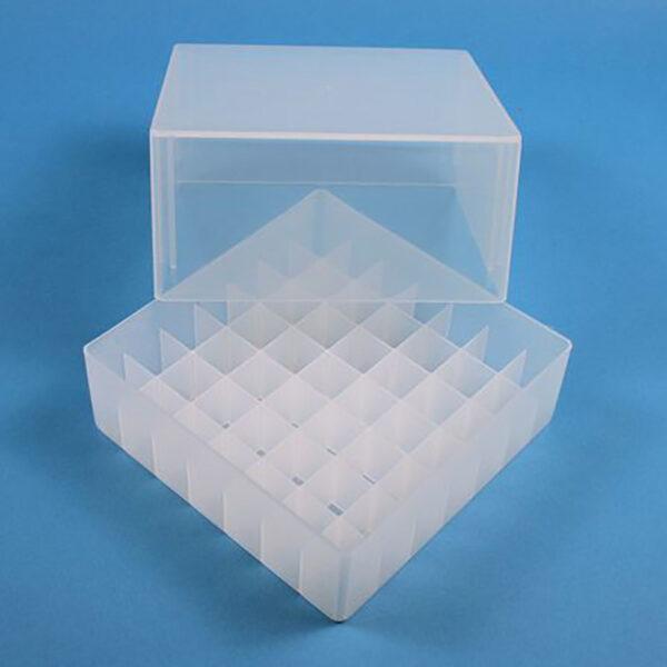Cryoboks 7x7 95 mm transparent