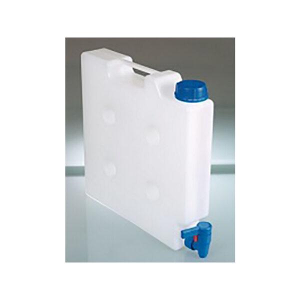 Flaske til rensevaeske til mikropladevasker
