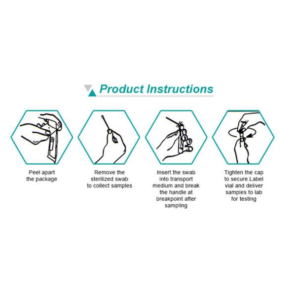 Testkit instruktion