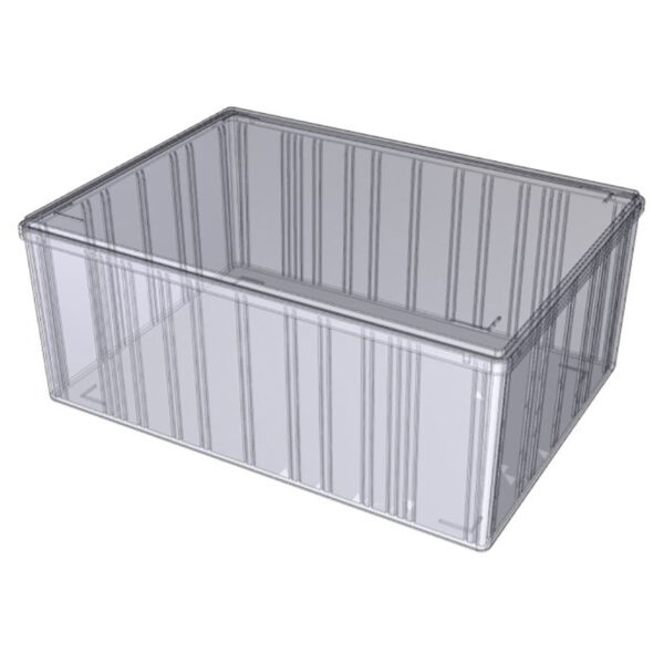 Opbevaringskasser transparent A4-120
