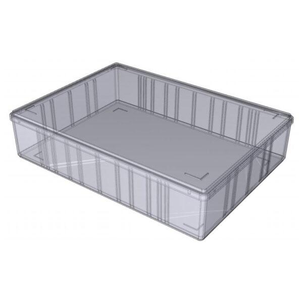 Opbevaringskasser transparent A4-60