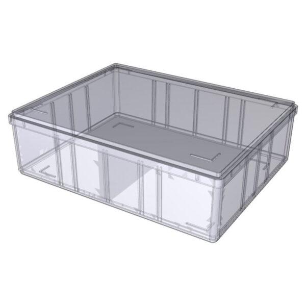 Opbevaringskasser transparent A5-60