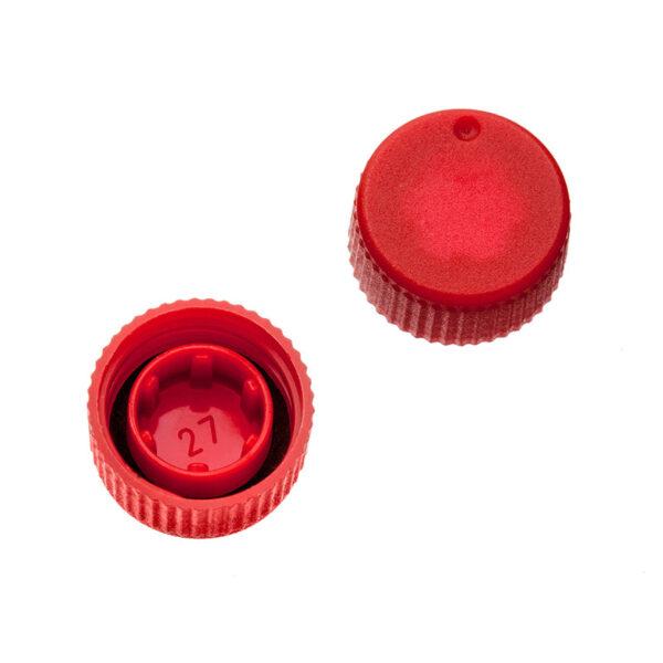 Labcon SuperClear låg til mikrør rød