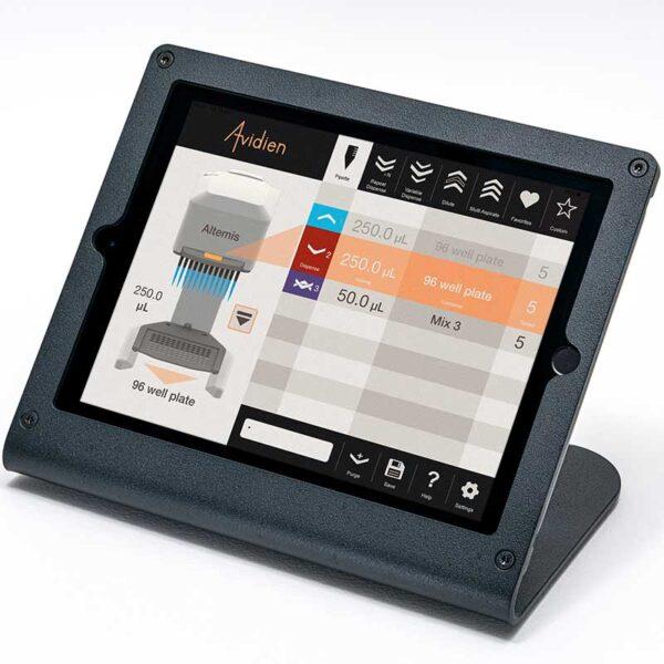 Pipetteringsapparatur Avidien microPro 300 display